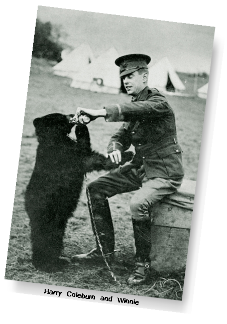 Captain Harry Colebourn and Winnie